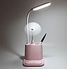 Настольная лампа Multifunctional DESK LAMP с держателем для телефона и USB, фото 3