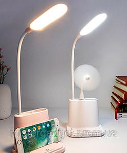 Настольная лампа Multifunctional DESK LAMP с держателем для телефона и USB