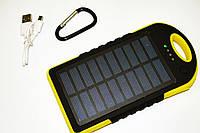 Solar Powerbank карабин+LED, фото 1