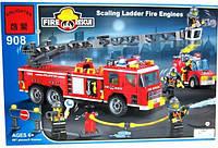 Конструктор Brick Enlighten серия Пожарная тревога 908 (Пожарная техника), фото 1