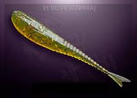 """GLIDER 3.5"""" оливка кальмар"""