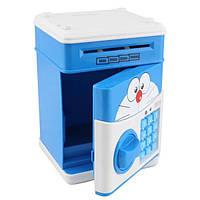Детская электронная копилка-сейф с кодовым замком и купюроприемником (2_008269)