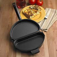 Сковорода омлетница с антипригарным покрытием Folging Omelette Pan