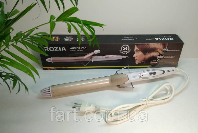 Профессиональная плойка для волос с керамическим покрытием Rozia HR721