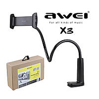 Держатель Awei X3 Black