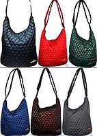 Женские стеганные сумки на плечо (6 цветов)28*27см, фото 1