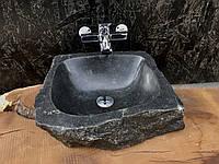 Раковина из натурального гранита Black stone