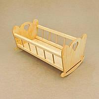 """Кровать игрушечная """"Анна"""" ваниль"""