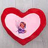 Подушка декоративная большое красное сердце, фото 3