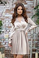 Вечернее платье плиссе шелк 42,44,46 р. Весна 2020