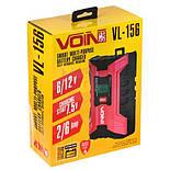 Автомобильное Зарядное устройство для аккумулятора VOIN  6-12V /2.0-6.0A/3-150AHR Импульсное, фото 2