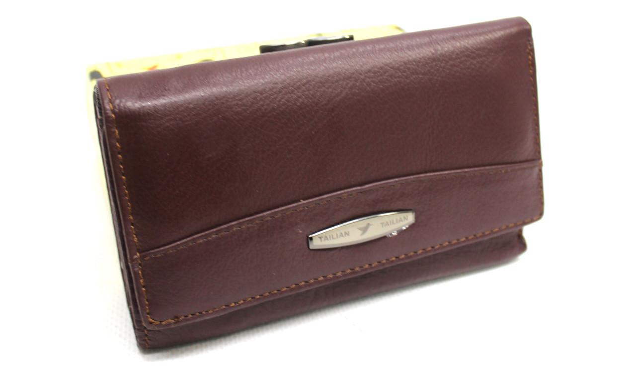 Женский кожаный кошелек Tailian YR T711