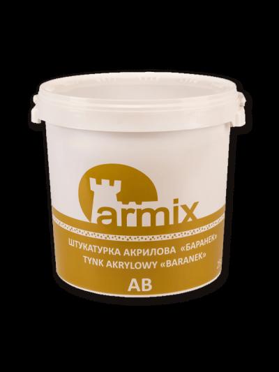 Armix AB штукатурка акрилова декоративна «камінцева», акрилова штукатурка Армікс баранек, 25кг