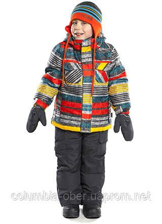 Зимний костюм для мальчика NANO 267 Deep Grey. Размер 6Х.
