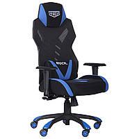 Геймерское кресло VR Racer Radical Krios черный/синий, TM AMF