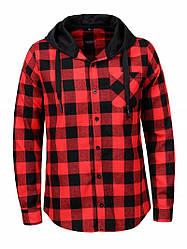 Рубашка мужская с капюшоном