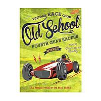 """Блокнот А5 интегральная обложка, 80 листов """"Race club"""" 1В 800"""