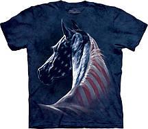 Футболка The Mountain Patriotic Horse Head 103381