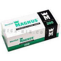 Гильзы для набивки сигарет Magnus Ментол 200 штук., фото 1