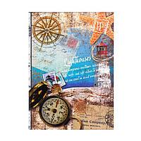 """Блокнот А5 интегральная обложка, 80 листов """"Морской"""" 1В 802"""