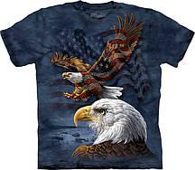 Футболка The Mountain Eagle Flag Collage 108207