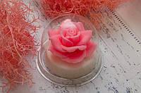 Ароматное мыло с маслом миндаля. Большая роза мыло. 160 грамм