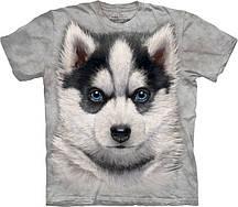 Футболка The Mountain Siberian Husky Puppy 103786
