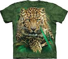 Футболка The Mountain Majestic Leopard 103840