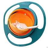Тарелка-непроливайка Universal Gyro Bowl, фото 6