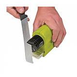 Точилка для ножей SWIFTY SHARP Ножеточка(на батарейках), фото 10