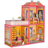 Будиночок для ляльок 6984 my lovely villa двох поверховий, фото 2