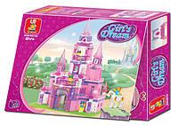 Конструктор Sluban серия Розовая мечта M38-B0152 (Замок принцессы)