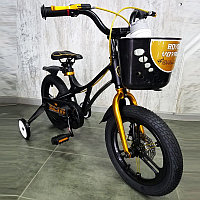 Испанский Детский Велосипед 14-GALAXY Black Магниевая рама (Magnesium) Сборка 85%