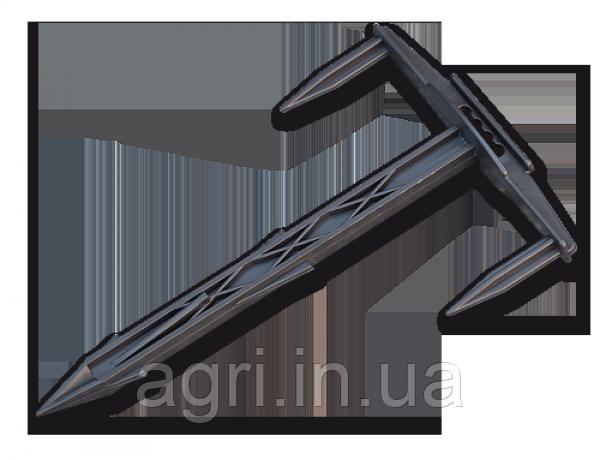 Шпилька (булавка-фиксатор) Тризубец 17/10см для агроволокна, агроткани (поштучно).