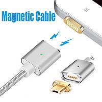 Магнитный кабель magnetic cable micro Usb, фото 1