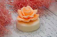 Ароматное мыло с маслом Ши. Большая роза мыло. 160 грамм