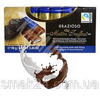 Шоколад Maitre Truffout GRAZIOSO с печеньем Oreo Австрия 100г