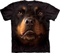 Футболка The Mountain Rottweiler Face 103263