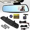 Видеорегистратор-зеркало Black Box Pro 10000 c камерой заднего вида и ночной съемкой, фото 3