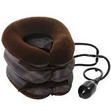 Надувной ортопедический воротник для шеи Tractors for cervical spine, фото 3