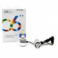 Лампы светодиодные C6 LED HB3 9005 (5500Лм, 38Вт, 8-48В)