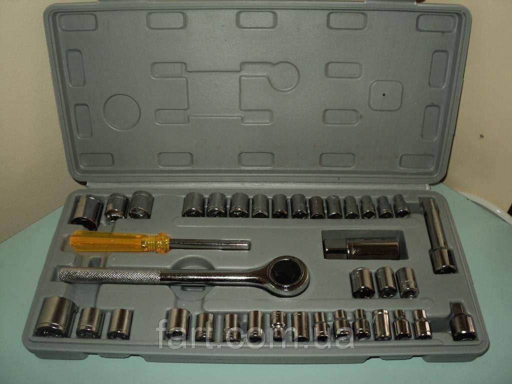 Набор инструментов 40 ед в чемоданчике большой набор