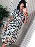"""Сукня-сорочка жіноча молодіжна на гудзиках, размерЅ-M(2цв)""""MARGARET"""" купити недорого від прямого постачальника, фото 1"""