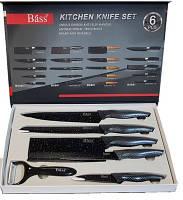 Набор ножей 5шт.+овощечистка BASS B6980