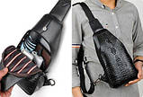 Мужская сумка Alligator BAG B, фото 9