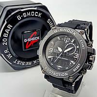 Спортивные наручные часы Casio G-Shock черного цвета металл черный ударопрочные влагозащищенные
