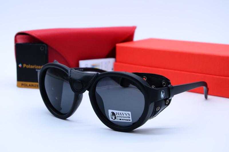 Солнцезащитные овальные очки унисекс Havs 68016 B