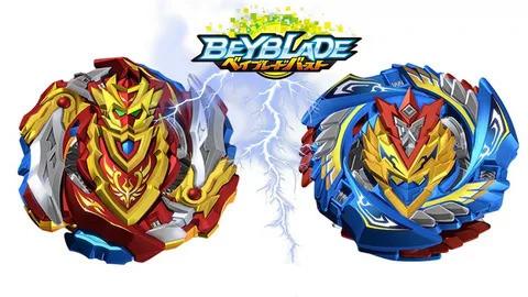 Набор Бейблейд Beyblade 2 в 1: Чо-Зет Волтраек В5 (Валькирия) В-127  + Чо-Зет Ахиллес А5 В-129  с пускателями