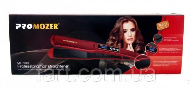 Профессиональный выпрямитель с регулятором температуры для волос Pro Mozer MZ 7050