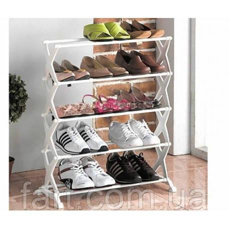 Стойка для хранения обуви Shoe Rack 5 полок
